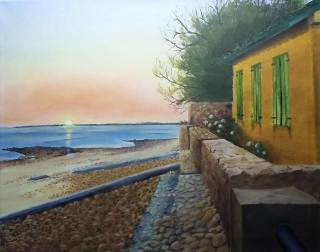 , 'Las Flores, la calma del atardecer,' 2016, ACCS Visual Arts