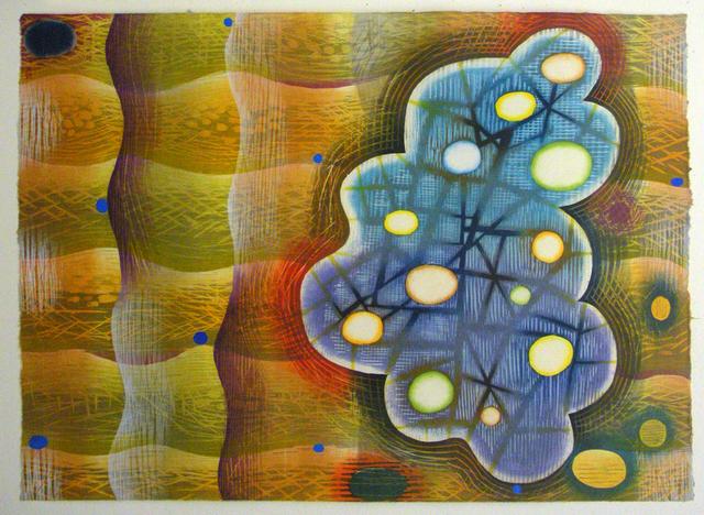 , 'Biocosmic Wave,' 2013, Atrium Gallery