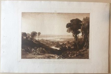 , 'Junction of the Severn and the Wye,' 1811, Bernard Jacobson Gallery