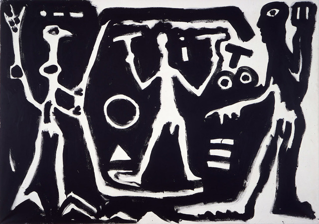""", '""""T I"""",' 1981, Michael Werner Gallery"""