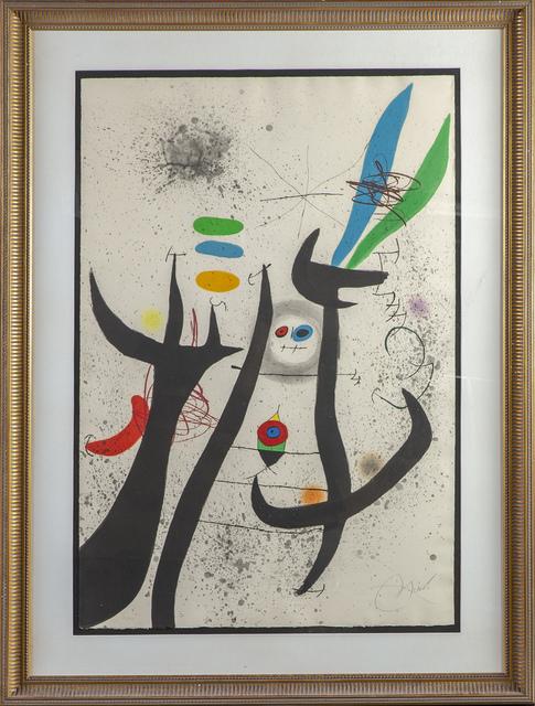 Joan Miró, 'La Femme Arborescente', 1974, Modern Artifact