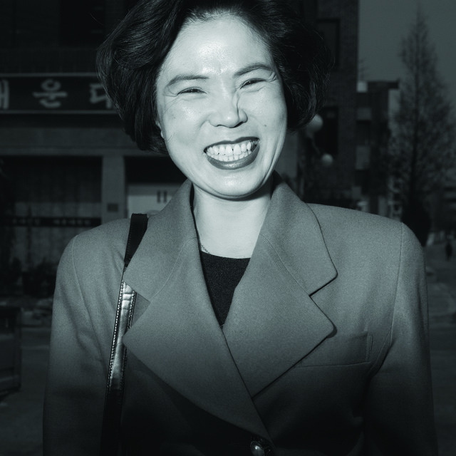 , 'Ajumma with short hair, July 21 ,' 1998, CHOI&LAGER