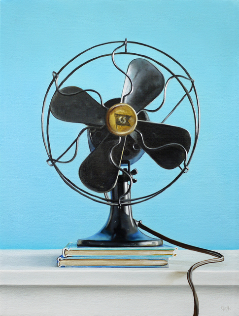 , 'Blue Fan,' , George Billis Gallery