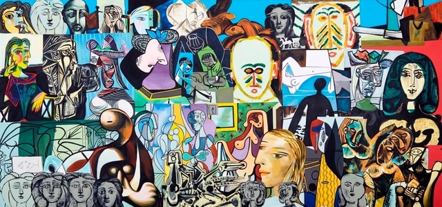 , 'Picassó Rodez,' 2001, Galerie Ernst Hilger