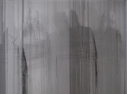 , 'Aunque ausente de identidad tu presencia se transmite en el colectivo,' 2012, Art Nouveau Gallery