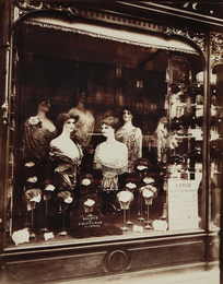 Eugène Atget, 'Boutique Coiffeur, Boulevard de Strasbourg,' 1912, Phillips: The Odyssey of Collecting