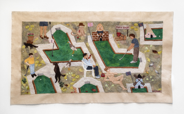 Michaela Younge, 'Adam loved to play Putt-Putt but their father insisted he bring his brother John on the Saturday', 2019, SMITH
