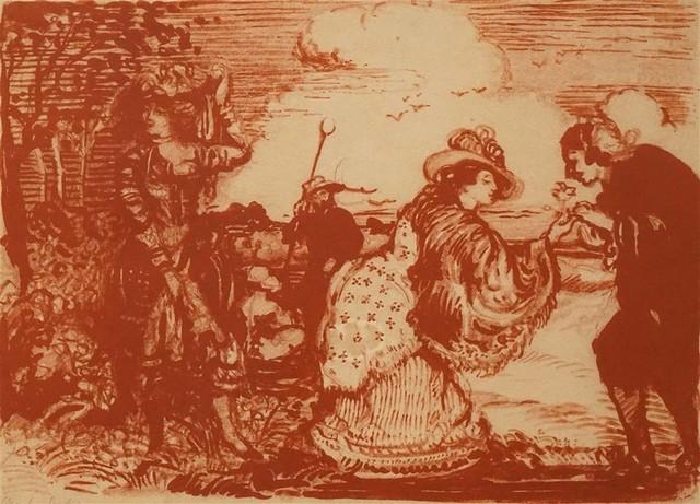 , 'A Pastoral Fantasy,' ca. 1904, Charles Nodrum Gallery