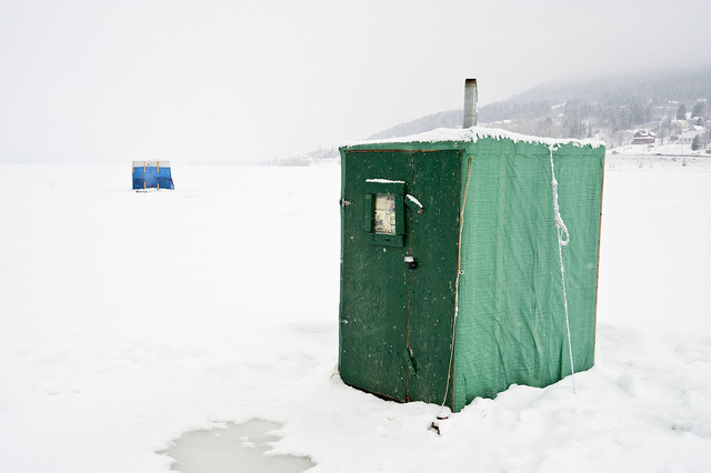 , 'Fishing Hut #2, Gaspé,' , The Print Atelier