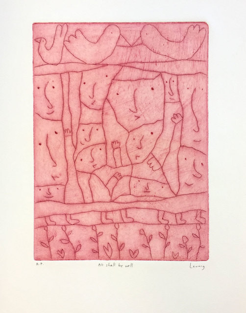 Michael Leunig, 'All Shall Be Well', 2019, Queenscliff Gallery & Workshop