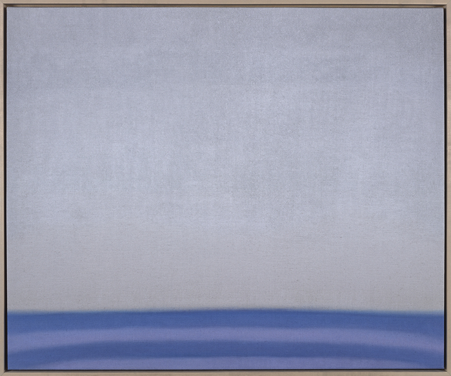 , 'Untitled (Grey/Lavender),' 2018, Berry Campbell Gallery