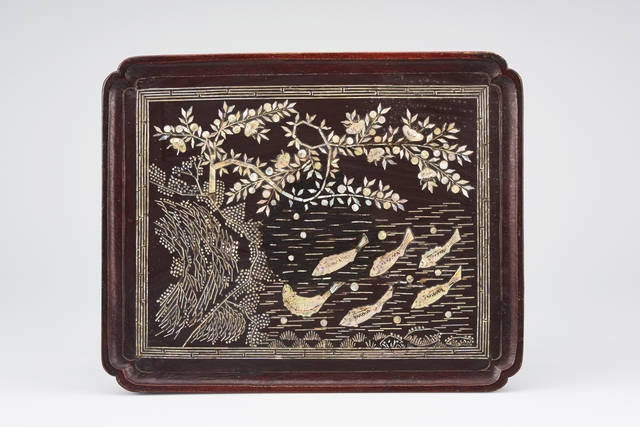 , 'Table with fish motif,' 1750-1800, Asian Art Museum