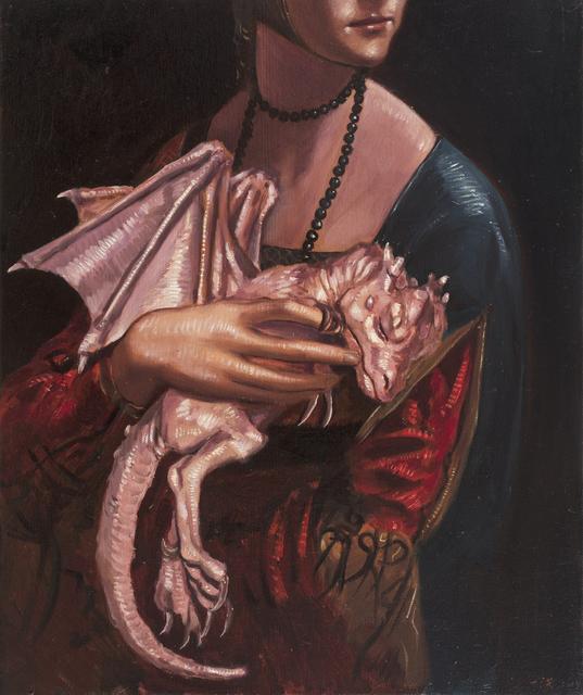 , 'Lady with A Dragon,' 2018, GALLERY SU: