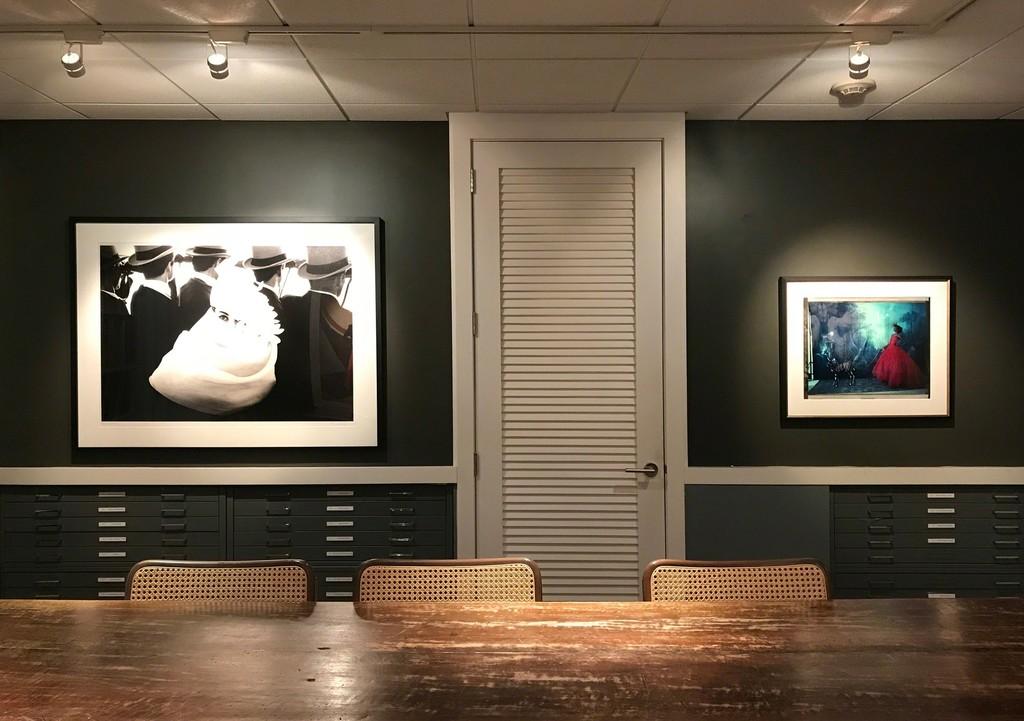Frank Horvat, Givenchy Hat A, For Jardin Des Modes, Paris  Cathleen Naundorf, L'arche de Noe XVII, Paris Dior - Philip Treacy Hat, Haute Couture 2012