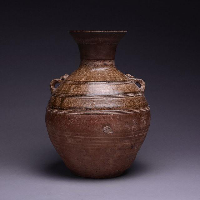 Unknown Chinese, 'Warring States Glazed Terracotta Hu', 475 BC to 221 BC, Barakat Gallery
