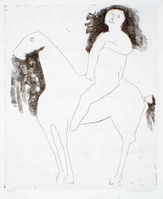 , 'Le Chevalier - The Knight,' 1959, Wallector