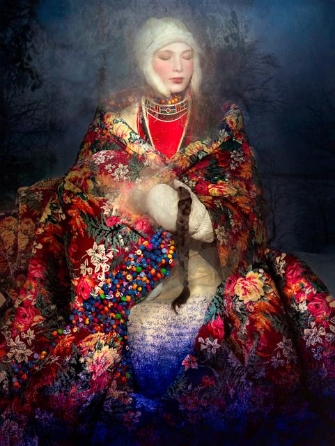 , 'Aana and the Flower Mantle,' 2016, Christian Larsen