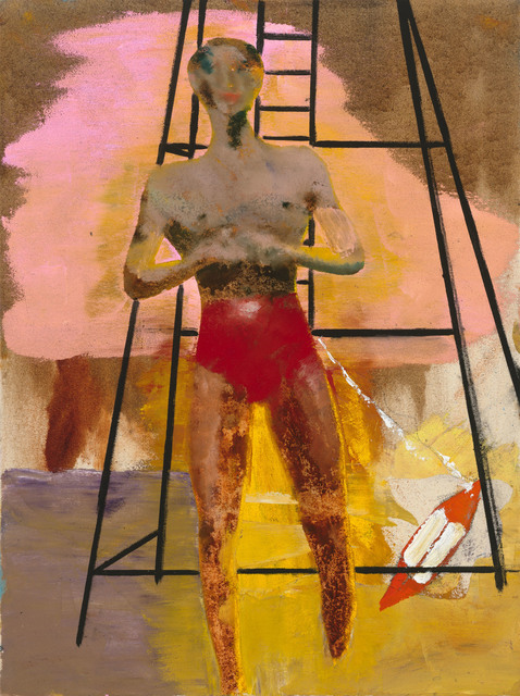 ", '""Bather III"",' 2017, Michael Werner Gallery"