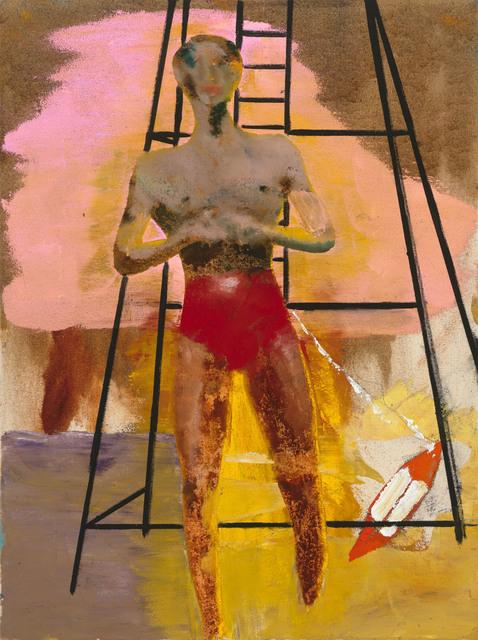 ", '""Bather III"",' 2017, Michael Werner Gallery"