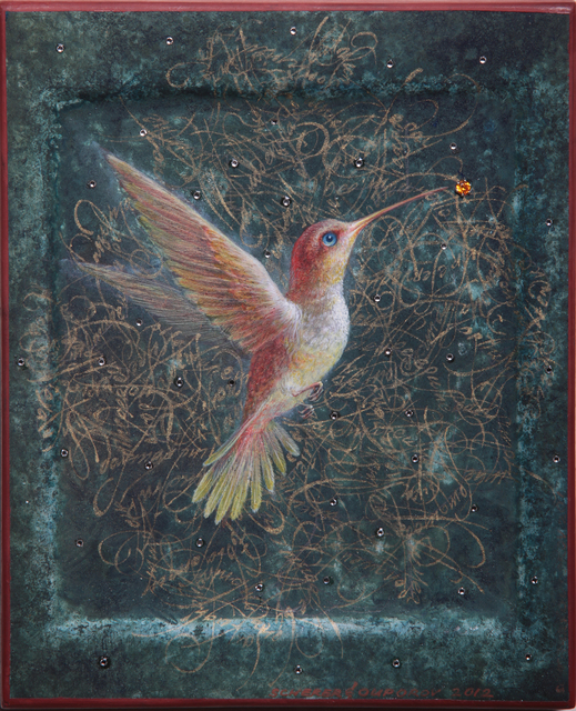 , 'Hummingbird Dance,' , Sirona Fine Art