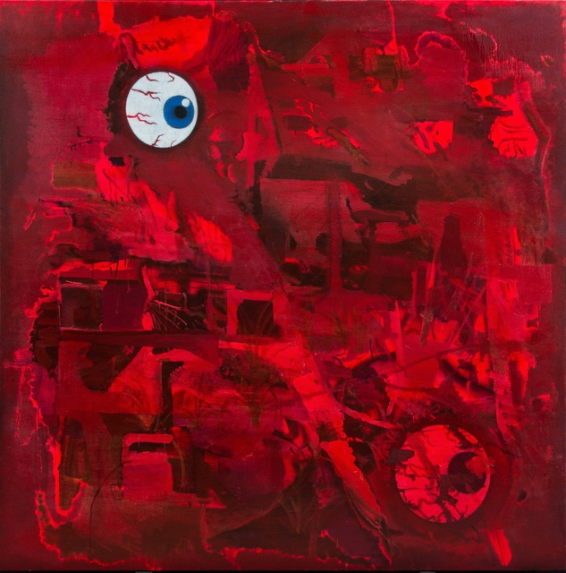 , 'Red Eye,' 2018, LOKO GALLERY
