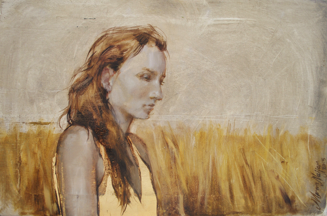 , 'Golden Wheat Field,' 2015, Q0DE