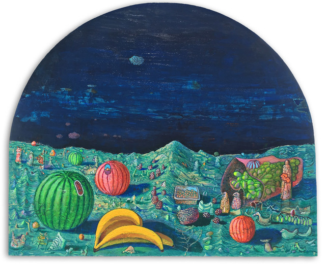 Andrew Abbott, 'Fruit on Waves', 2019, Robert Fontaine Gallery