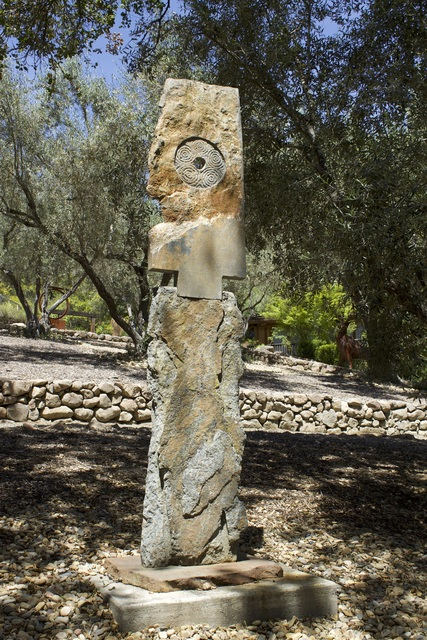 Paul E. Brown, '[ 57 ] Menhir #21', Contemporary, Sculpture, Stone, ÆRENA Galleries and Gardens