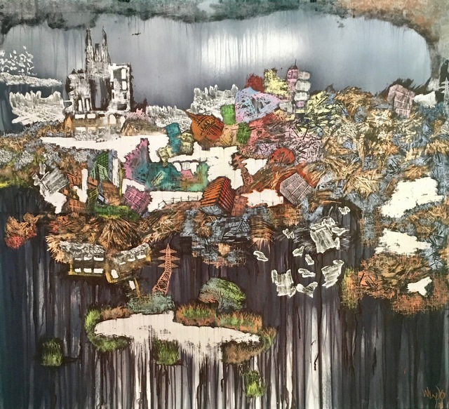 , 'World Disorder I (Backgrounds),' 2017, ARTLabAfrica