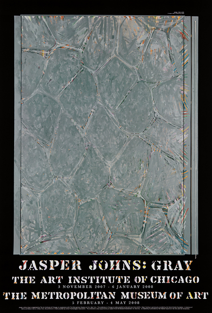 Jasper Johns, 'Gray (Within) exhibition posters: four copies', 2008, Phillips