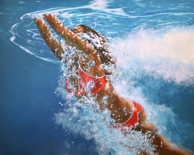 , 'Surfacing Back ,' 2015, Hespe Gallery