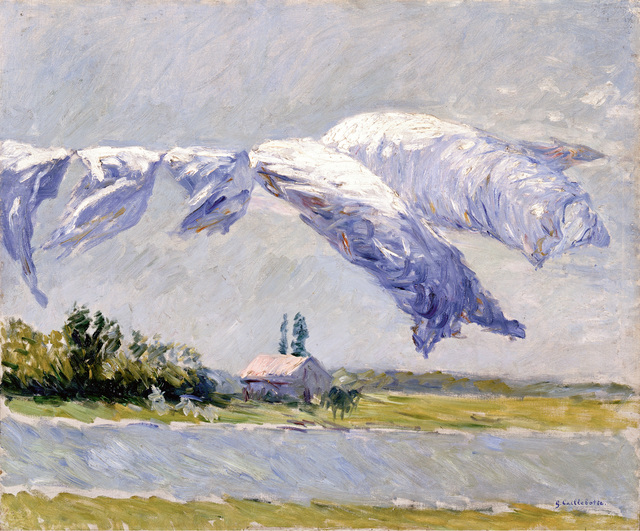 , 'Laundry Drying, Petit Gennevilliers,' 1888, Museo Thyssen-Bornemisza