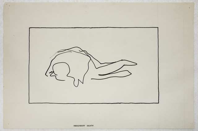 , 'Untitled (Imaginary Death),' 1973, Mai 36 Galerie