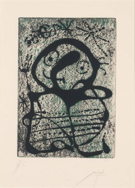 Joan Miró, 'Constellations (Dupin 270; C. Books 58)', 1959, Doyle