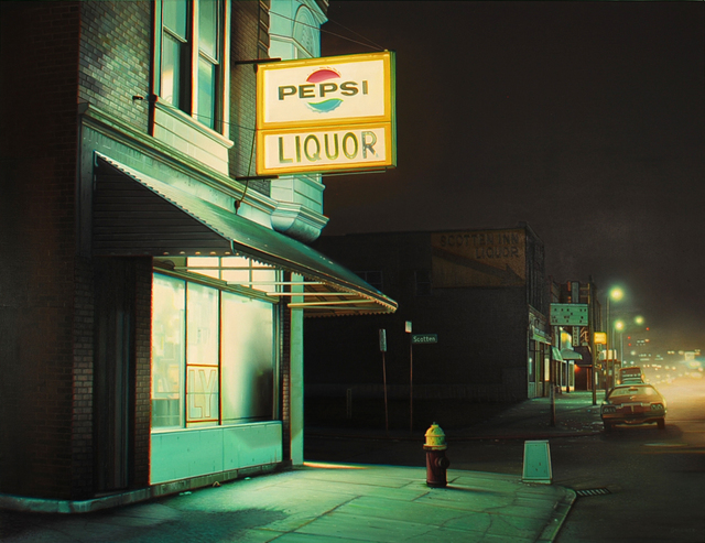 , 'Scotten Inn,' 2014, Louis K. Meisel Gallery