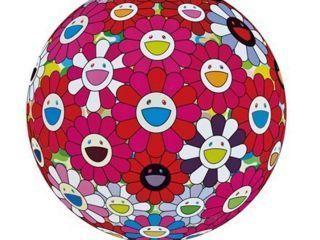 Takashi Murakami, 'Flowerball (3D) - Turn Red !', 2017, Ode to Art