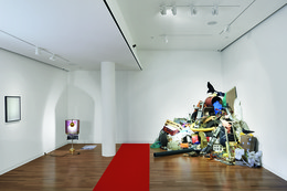 No Such Thing As History: Four Collections And One Artist (exhibition view), 2014 Courtesy Espace Louis Vuitton München