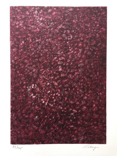 Mark Tobey, 'Jean Cassau', 1973, Print, Lithograph, Kunzt Gallery