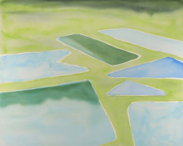 , 'Rice Fields,' 2013, Wooson Gallery