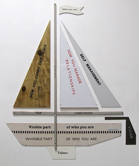 , 'Yacht Model of Integrity,' 2017, Craig Krull Gallery