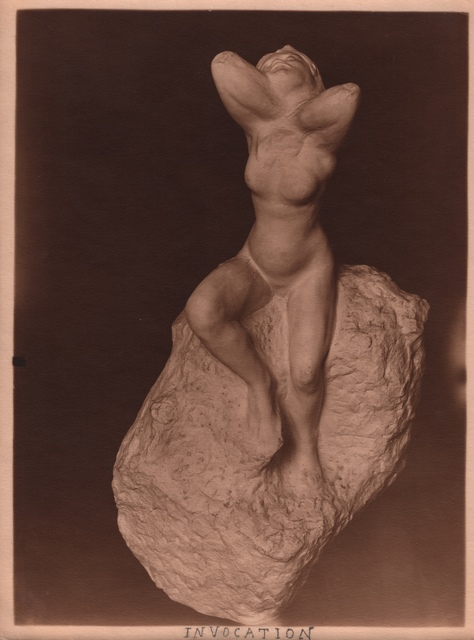 , 'Rodin's Invocation,' ca. 1900, Grob Gallery