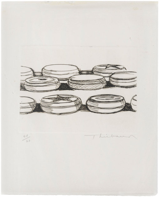 Wayne Thiebaud, 'Yo-yos', 1962, ArtRite