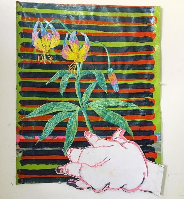 , 'Lelie met vadsige grijpgraag,' 2018, Galerie Bart