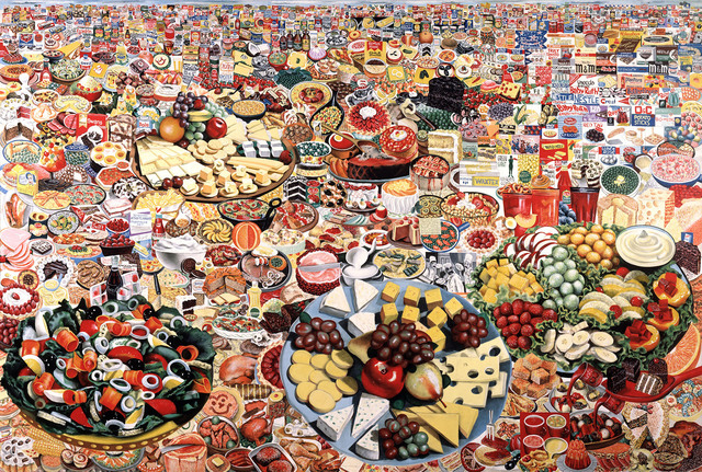 , 'Foodscape,' 1964, Walker Art Center