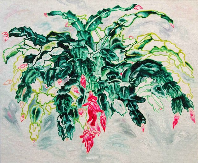 , 'Christmas Cactus,' 2014, Beyond Gallery