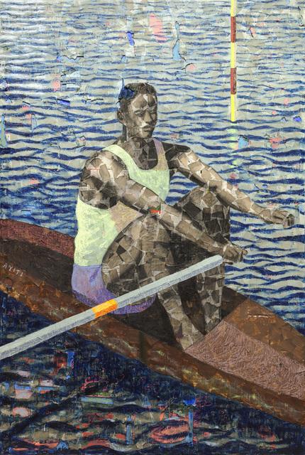 , 'Rower,' 2019, Josh Lilley