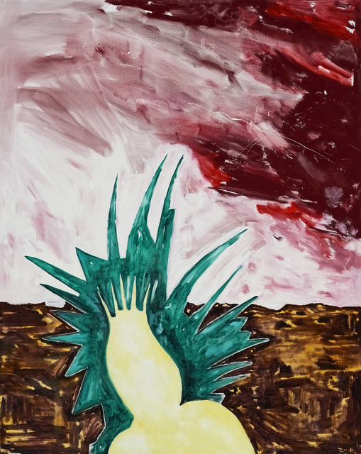 , 'Sturmumtoste Ananas (Storm-tossed Pineapple),' 2017, Marlborough London