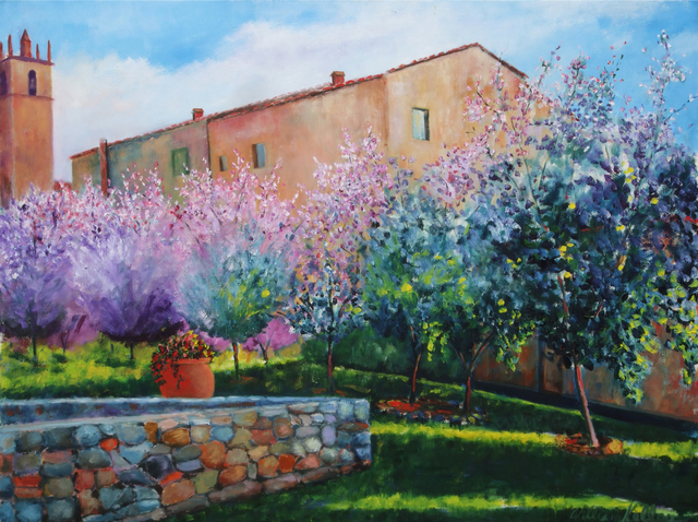 William Kelley, 'Monteriggioni', Walter Wickiser Gallery