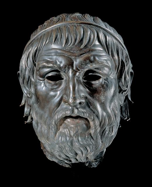 ", 'Portrait of a Poet, ""The Arundel Head"",' 200-1 B.C. , J. Paul Getty Museum"