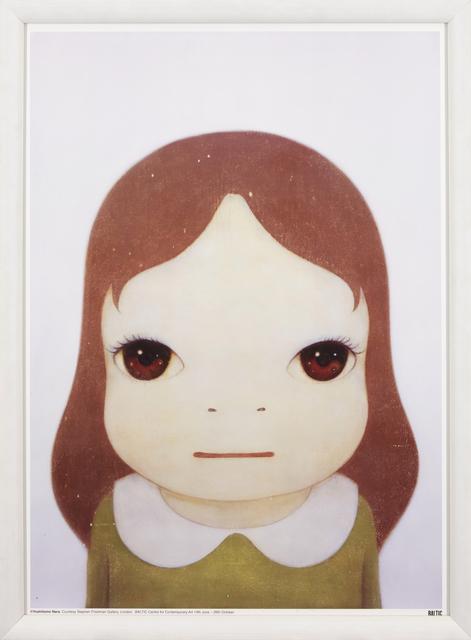 Yoshitomo Nara, 'Cosmic Girl: Eyes Open', 2008, Print, Offset lithograph in colours on smooth wove, Roseberys